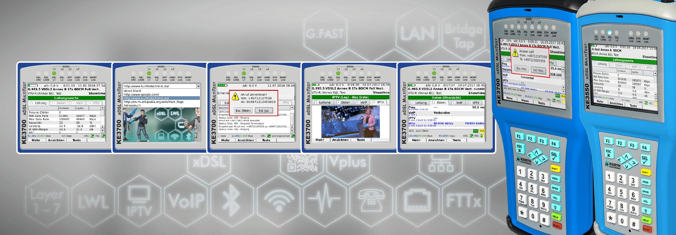 Für alles gerüstet mit xDSL MultiTest