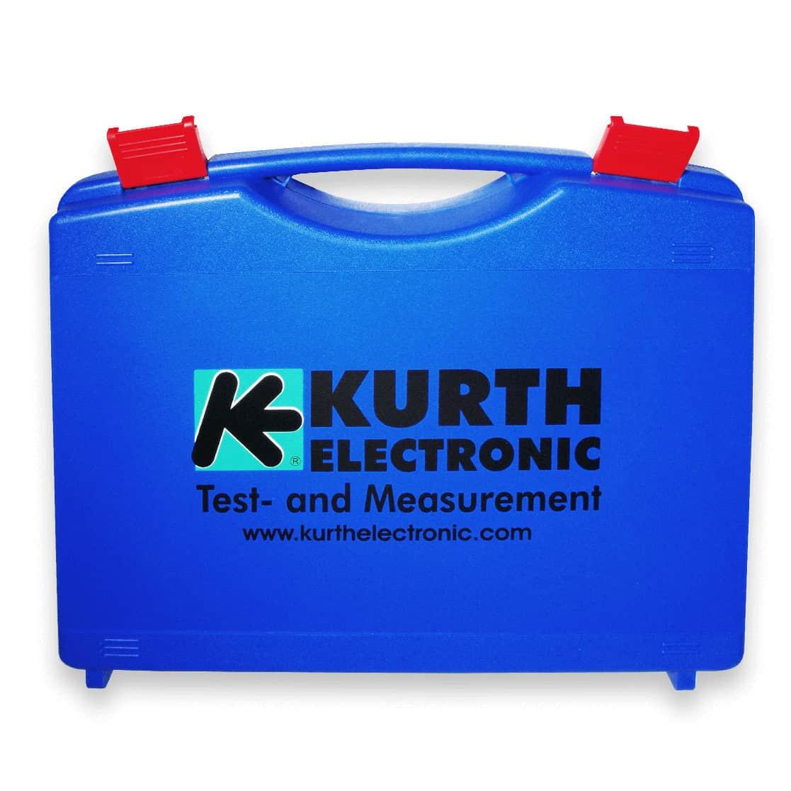 Kurth Electronic Gerätekoffer blau