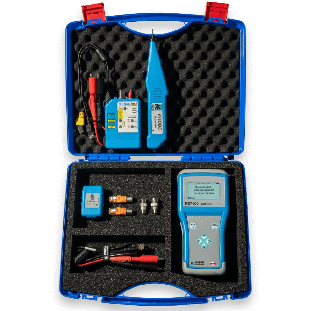 KE7108 Netzwerk- und Leitungssucher-Kit – Kurth Electronic