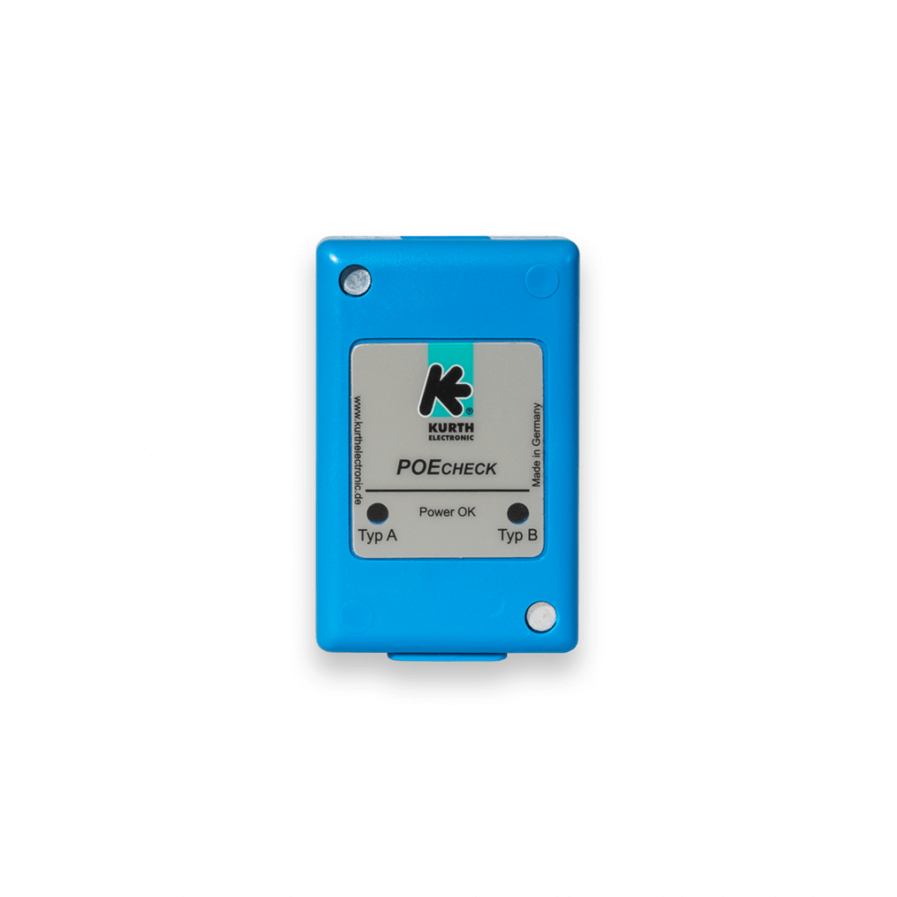 Poecheck Kurth Electronic Power Over Ethernet Is A Technology That Allows Devices Such Checks Data Ports For Supply Fast And Easily