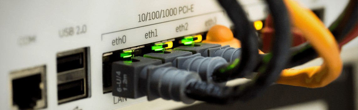How are network cables laid properly?
