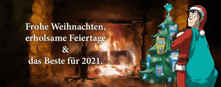 Weihnachtsgrüße und ein Rückblick auf 2020