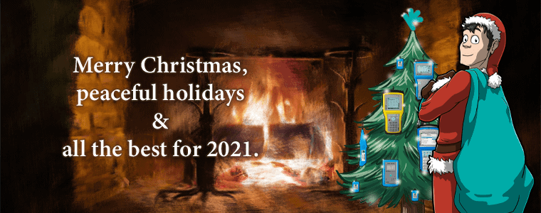 Christmas greetings and a look back on 2020