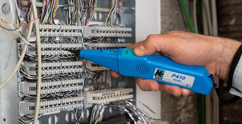 Probe410 mit Kohlefaser-Spitze, Signal-LED und Taschenlampenfunktion