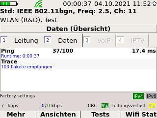 Screenshot Trace