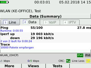 Screenshot iPerf