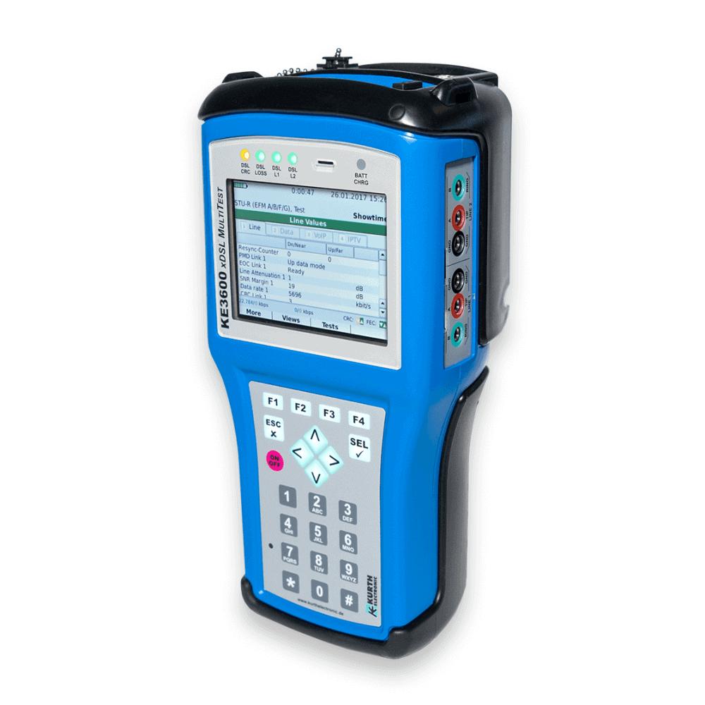 Ke3600 Xdsl Multitest Kurth Electronic