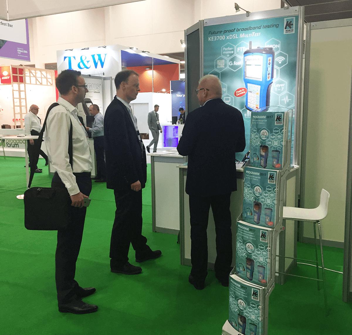 Broadband World Forum 2017 mit KE-Präsenz